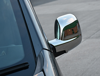 Chrome Mirror Cover Set - Citroen Berlingo Peugeot Partner 08-12