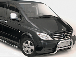 Stainless Steel Mirror Covers Mercedes Vito, 2011>