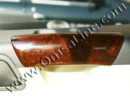 Grab Handle Covers, Wood Effect, Transporter / Caravelle 2003>