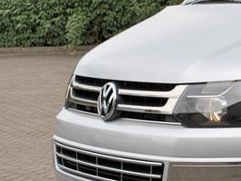 4 Piece Stainless Steel Grille, T5 & Caravelle Facelift, 2010>