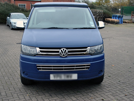 Vanstyle Stainless Steel Lower Bumper Grille VW T5 2010>