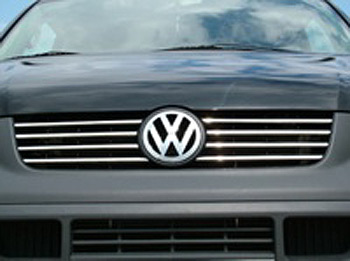 Vanstyle Stainless Steel Radiator Grille Set VW T5 Transporter