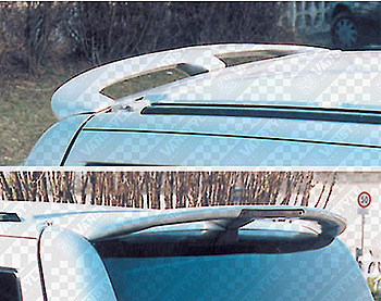 SportMAX Rear Tailgate Spoiler PU Primed B/light LED Vito 1996-0