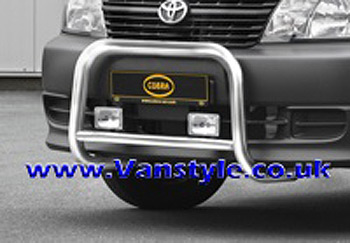 Cobra Front Protection A-Bar EU - Toyota Hiace 2006-on
