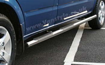 Safety SIDE STEPS Scudo/Expert/Despatch Chrome End Caps