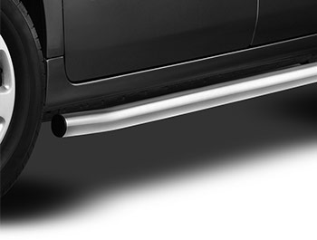 Cobra Brushed Stainless 60mm Side bars - Partner/Berlingo/Tepee