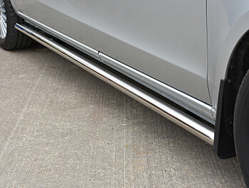 Side Bars 60mm Polished Stainless Steel - Vito