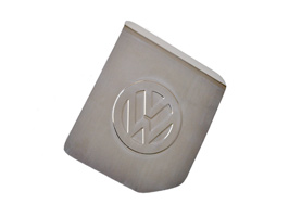 Stainless Steel Fuel Flap Cover, VW Transporter T4, 1990>03