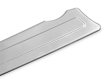 Polished Stainless Steel Bumper Protector - Bipper/Nemo/Fiorino