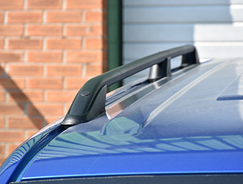 Satin Black Aluminium Roof Rail Bars - VW T5/T6 03> SWB/LWB