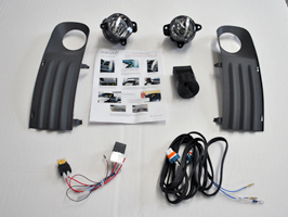Fog Light Upgrade Kit VW T5 Transporter 03-09