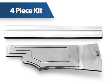 Polished Stainless Steel Inner Door Sill Covers - Connect 2014>