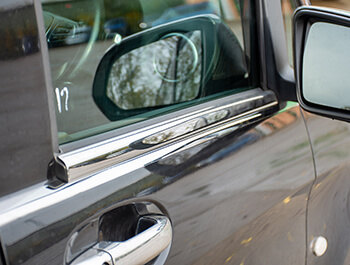 Mercedes Vito 2Pcs. Stainless Steel Window Trim 2014>