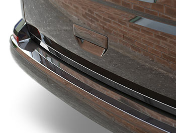 VW T6 2015> 1Pc. Stainless Steel Rear Tailgate Trim