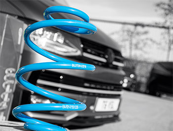 Bilstein B14 Single Front Coilover Spring - VW T5/T6