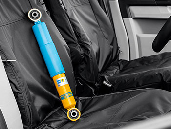 Bilstein B14 Single Rear Coilover Damper Unit - VW T5 T6