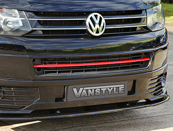 Red Edition Lower Front Radiator Grille Trim VW T5 2010-15