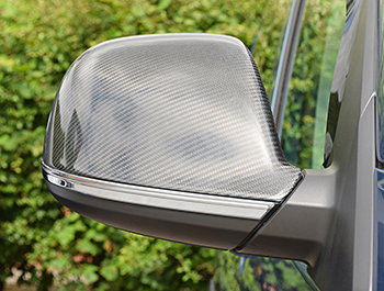 VW T5 T6 Amarok Stainless Steel Polished Lower Mirror Strips