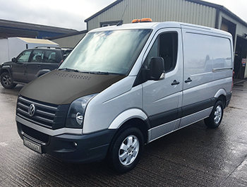 Full Length Plain Bonnet Bra - VW Crafter 2006>2016