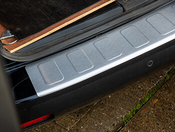 Brushed Rear Bumper Protector - Expert/Proace/Dispatch - L1/L2