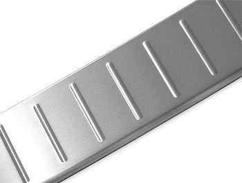 Brushed Stainless Steel Rear Bumper Protector - Crafter / TGE