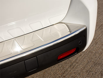 Polished Rear Bumper Protector - Expert/Proace/Dispatch - L3 LWB