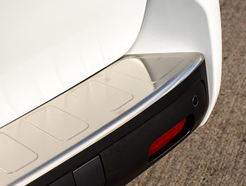 Brushed Rear Bumper Protector - Expert/Proace/Dispatch - L3 LWB