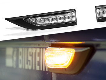 LED Sequential Side Repeater Pair - Clear - VW T6 15>