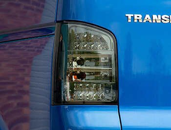 LED Smoked Rear Lights - VW T5 03>09 Tailgate Models Only