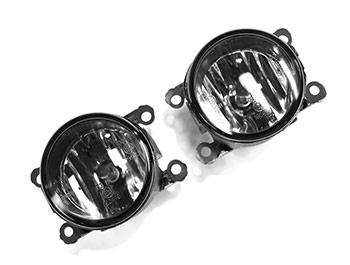 Front Lower Smoked Fog Light Units - Ford Transit Custom 12-18