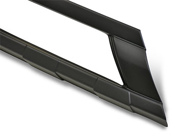 Front Bumper Black ABS Skid Plate - Transit Custom 12-18