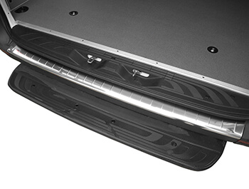 Polished Stainless Steel Bumper Protector - Mercedes Sprinter18>