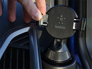 Adjustable Cup Holder Phone Mount from Belkin - Custom 12>