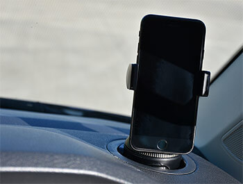 Adjustable Cup Holder Phone Mount from Belkin - VW T6 2015>