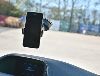 Adjustable Suction Mounted Phone Holder from Belkin - Custom 12>