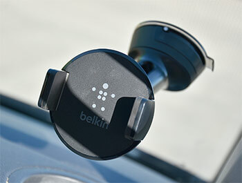 Adjustable Suction Mounted Phone Holder from Belkin - VW T6 15>