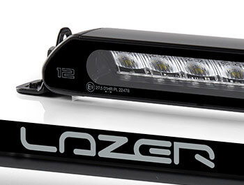 Lazer Linear-12 Black Led Spot-Light - Single Unit - Universal