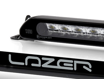 Lazer Linear-18 Black Led Spot-Light - Single Unit - Universal