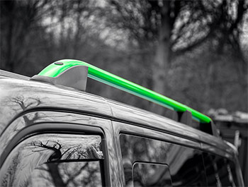 Green Edition Aluminium Styling Roof Rail Bars - VW T5/T6 03>
