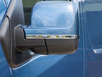 Stainless Steel Mirror Trims - Trafic, NV300, Vivaro, Talento