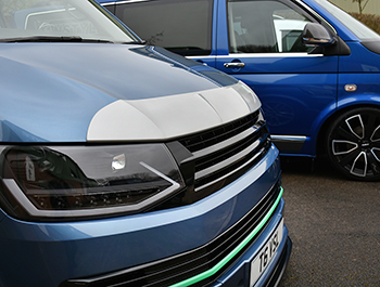 Silver ABS Bonnet Protector - VW T6 2015>