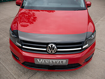 Carbon Effect ABS Bonnet Protector - VW Caddy 2015>