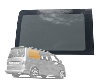 OSR Drivers Side Rear Quarter Window Glass Pane - VW T5 T6 SWB
