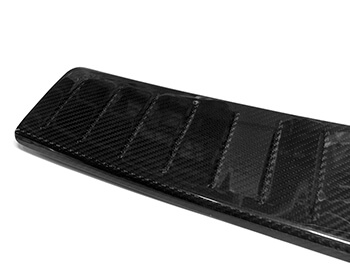 Real Carbon Rear Bumper Protector - Mercedes Vito 14>