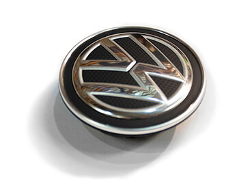 Genuine VW Dynamic (Self Levelling) Hub/Centre Caps