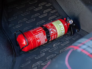 Foam Fire Extinguisher With Mounting Bracket - 1 Litre