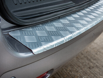 3D Aluminium Rear Bumper Protector - Dispatch/Expert/Proace 16>