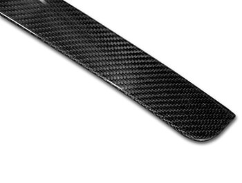 Real Carbon Fibre Tailgate Trim Line - VW Caddy 15>