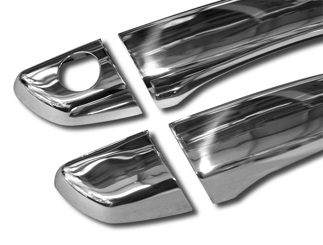 Door Handle Covers Stainless Steel - Berlingo/Partner/Combo 18>