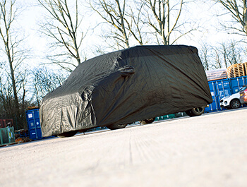 Indoor Sahara Black Van Cover - VW T4, T5, T6, T6.1